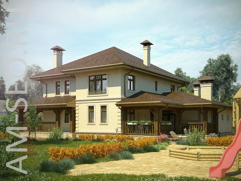 Проекты от 150 до 200 квм - Проекты домов и коттеджей